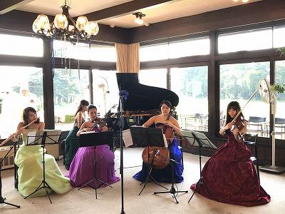 フルート ヴァイオリン ヴィオラ チェロ ピアノ