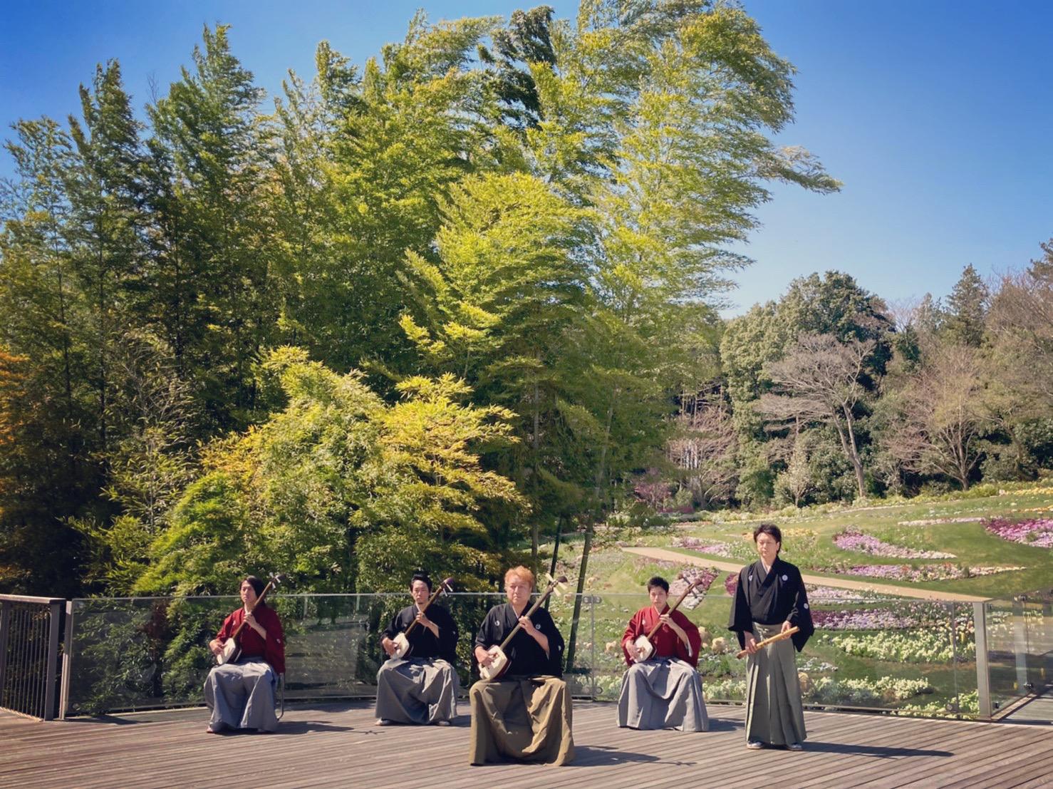 里山ガーデン2021春ミニコンサート