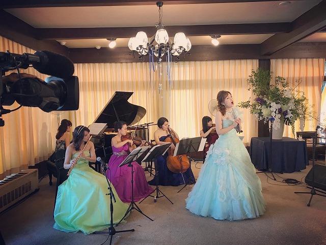 ソプラノ&ヴァイオリン&フルート&ヴィオラ&チェロ&ピアノ