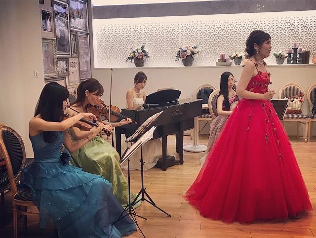 ソプラノ&ヴァイオリン&ヴィオラ&チェロ&ピアノ